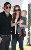 Ashlee Simpson, Pete Wentz and Bronx at A Time for Heroes Celebrity Picnic