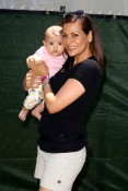 Constance Marie and daughter Luna at A Time for Heroes Celebrity Picnic