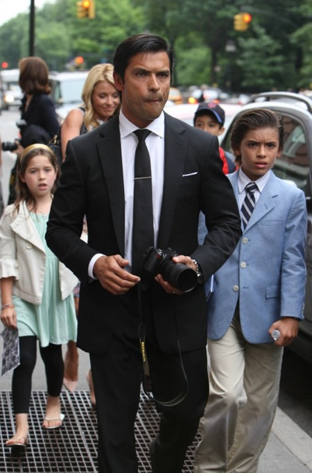 Mark Consuelos Kids 2014