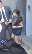 Lourdes Leaves Kabala Center in NYC