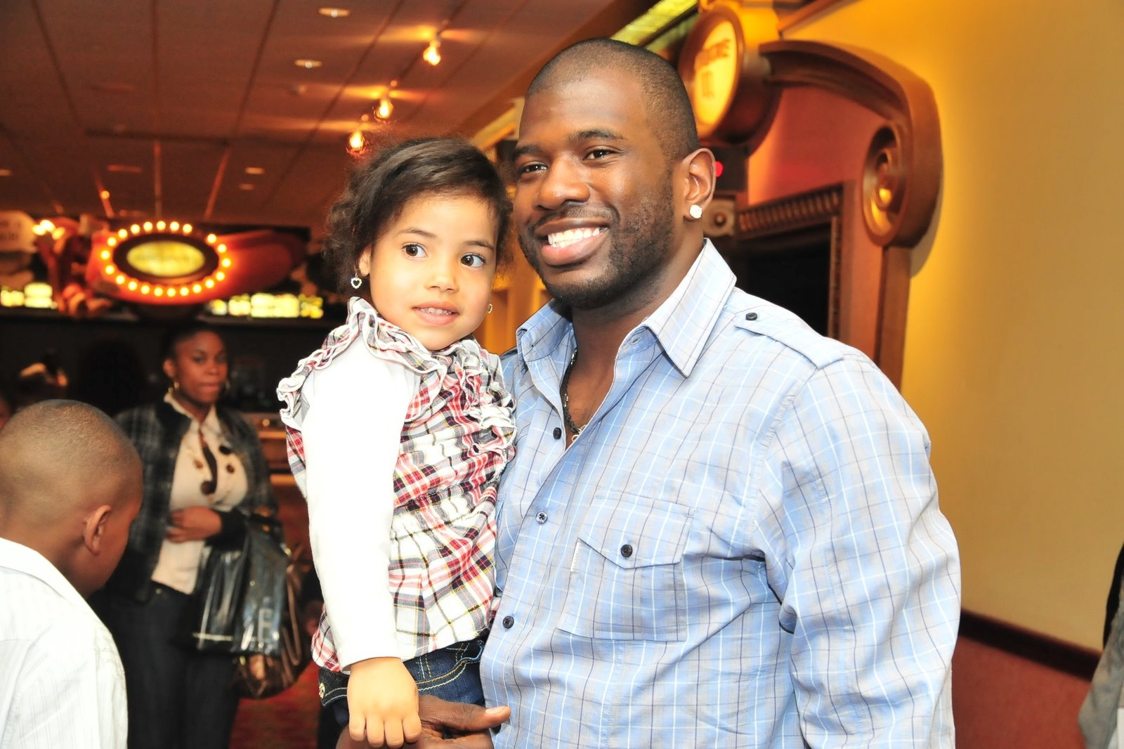 Jason Richardson Phoenix Suns and daughter Growing Your Baby