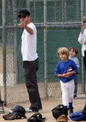The Phillippe's Enjoy Some Saturday Morning Baseball