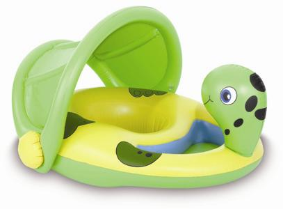 Ticklish Turtle Sunshade Float Baby Boat Growing Your Baby