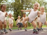 Evian Roller Babies Take The World By Storm!