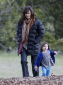 Suri Keeps Katie On Her Toes