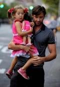 Hugh Jackman with daughter Ava