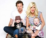 The McDermott's Cover Baby Couture Magazine