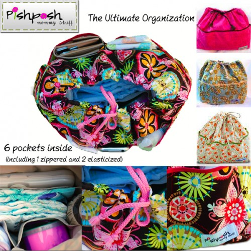 Turn Any Purse Into A Diaper Bag With PishPoshBaby