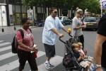 Sean and Jayden Enjoy Ice Cream in Paris