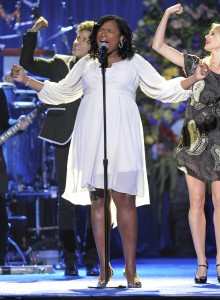 Jennifer Hudson In Full Bloom At Michael Jackson's Memorial Service