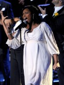 Jennifer Hudson In Full Bloom At Michael Jackson's Memorial Service