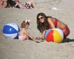 Estela Celebrates 2nd Birthday At The Beach