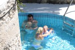 The Schrieber Family Enjoys Italy