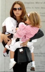 Matt Damon and Family At LAX