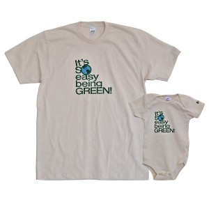 New Dad Gift Idea: Diaper Dude's Matching T's and Onesie