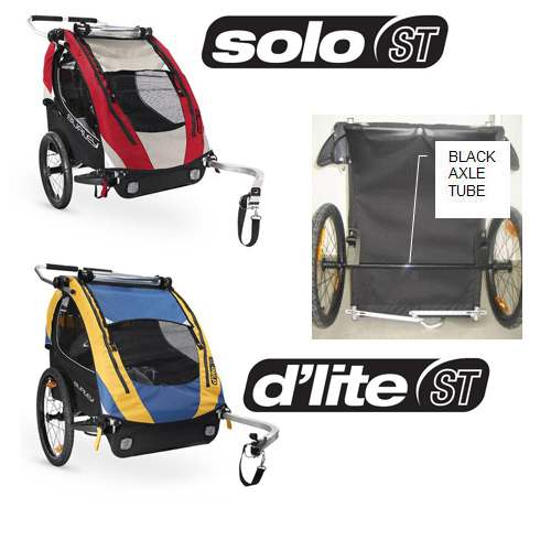 RECALL: Burley Design Child Trailers Due to Risk of Injury