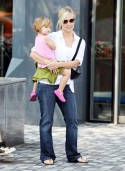 Jennie Garth and Peter Facelli Shop With The Kids in Vancouver