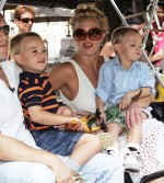 Britney And Her Boys Relax in NYC