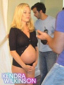Kendra Shows Off Her Growing Belly