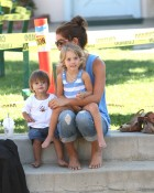 Brooke And The Kids Enjoy The Park