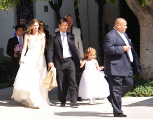 Mark and Rhea Marry, Michael and Ella Attend