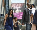 Kobe and Vanessa Tour Paris With Their Girls