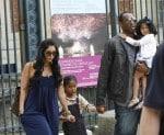 Kobe and Vanessa Tour Paris With Their Girls
