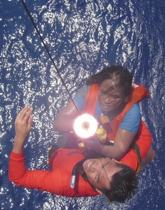 Housewife Survives 30 Hours Adrift at Sea