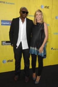 Heidi Klum In Full Bloom At 'Get Schooled' Premiere