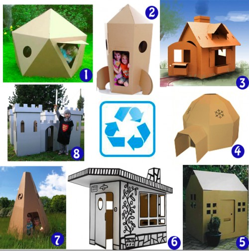 Kids Cardboard Playspaces