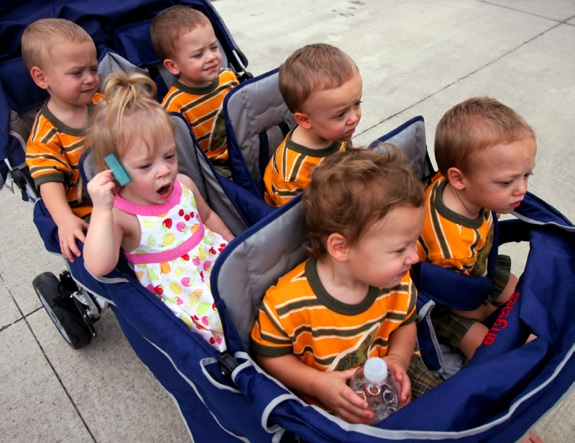 The Byler Sextuplets Turn 2! : Growing Your Baby