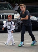 Cruz and Brooklyn Beckham