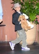 The Birthday Boy!  Romeo Beckham