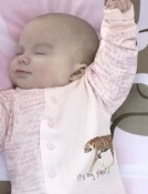 Kushies Its My Planet 2 Organic Layette Collection pink