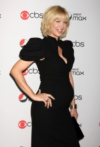 Jenna Elfman and Ashley Jenson Show Off Their Bumps @ The CBS Fall Preview