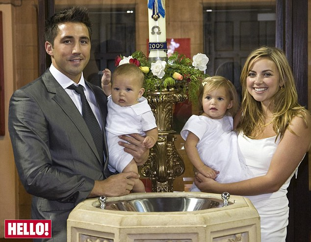 Charlotte and Gavin Baptize Baby Dexter