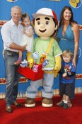 Celebrity Kids Attend Premiere of 'Handy Manny Motorcycle Adventure'