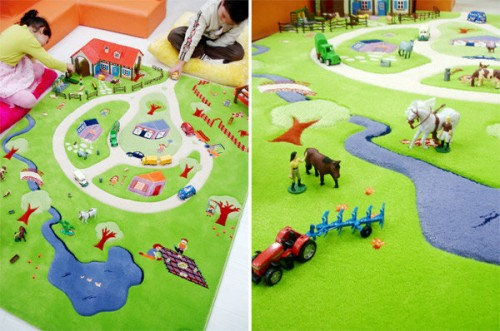 Creative Kids Play: 3D Rugs