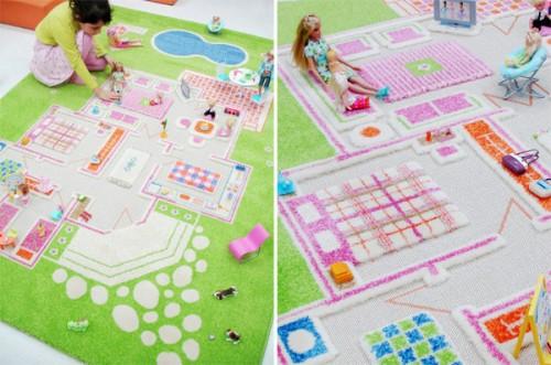 Creative Kids Play: 3D Rugs