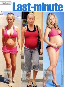Kendra Wilkinson InTouch Feature