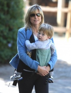 Courtney Thorne-Smith and Son Jake Hike The Hills