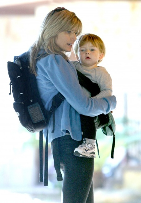 Courtney Thorne-Smith and Son Jake Hike The Hills Bradley Cooper