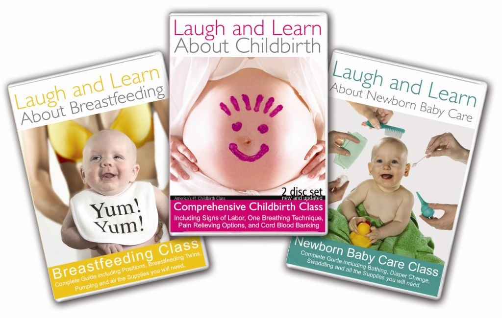 Laugh and Learn About Pregnancy, Breastfeeding and Newborn Care