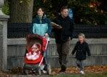 Jennifer Garner strolls in Boston with her daughter Seraphina and Violet Affleck