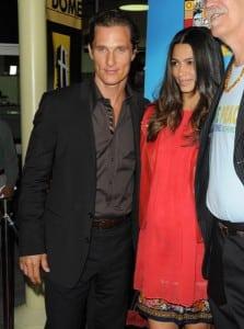 Matthew and Camila's Red Carpet Date Night