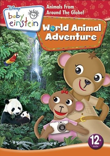 Disney Introduces Newest Baby Einstein DVD: World Animal Adventure