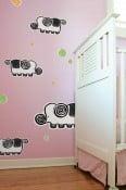 BLIK Removable Wall Graphics Turn Nurseries into Daydreams