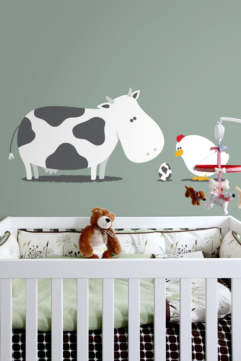 BLIK Removable Wall Graphics Turn Nurseries into Daydreams