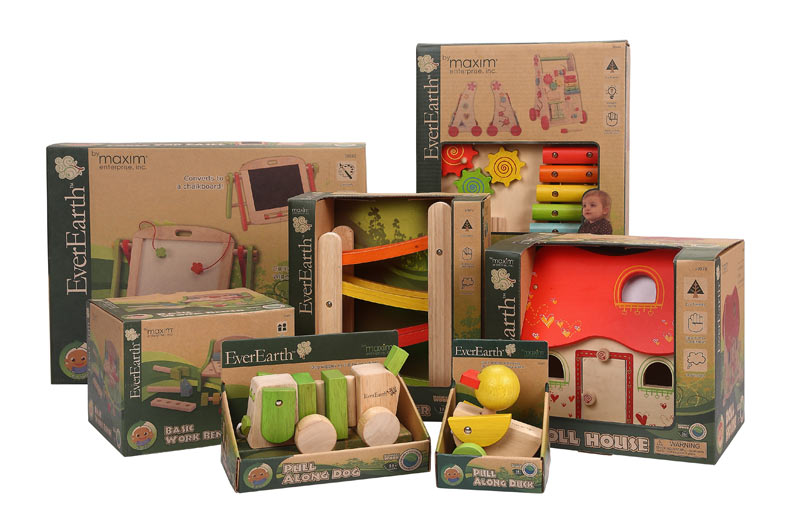 Eco Fabulous Everearth Wooden Toy Collection