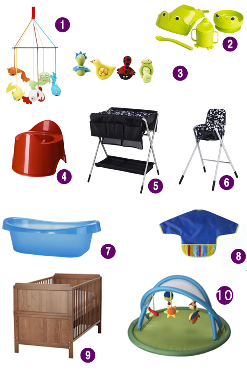 10 ikea baby finds that won 39 t break the bank. Black Bedroom Furniture Sets. Home Design Ideas